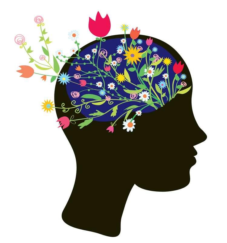 flower brain image